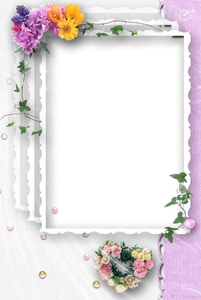 свадебная рамка фотошоп