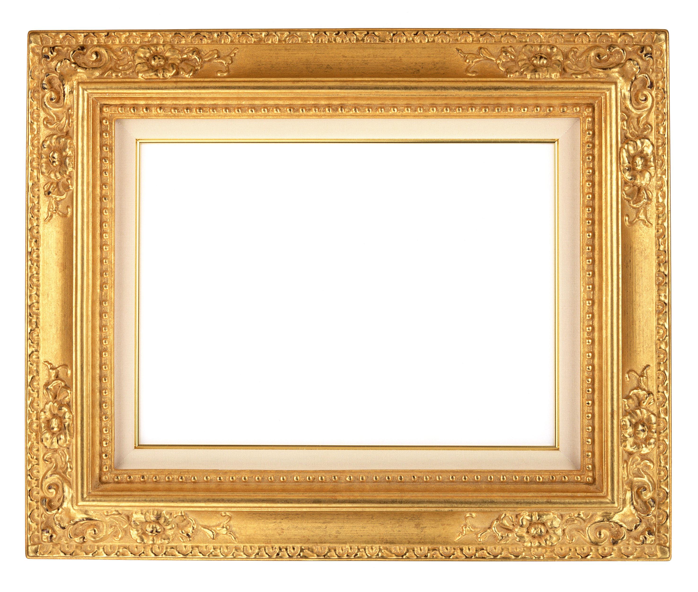 Золотая рамка для фотошопа